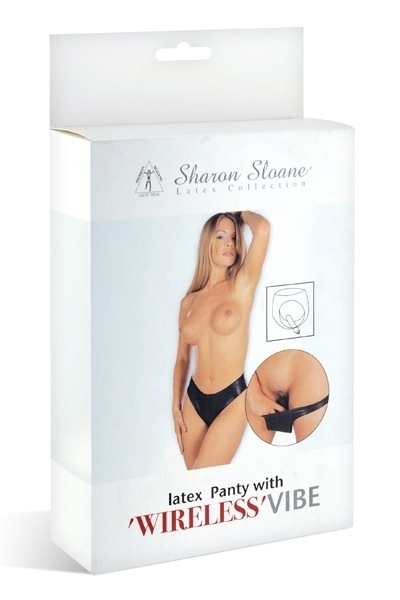 Culotte Vibrante Gode Amovible Latex