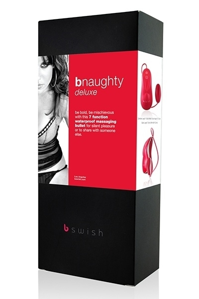 Oeuf Vibrant Bnaughty Deluxe B Swish Rouge