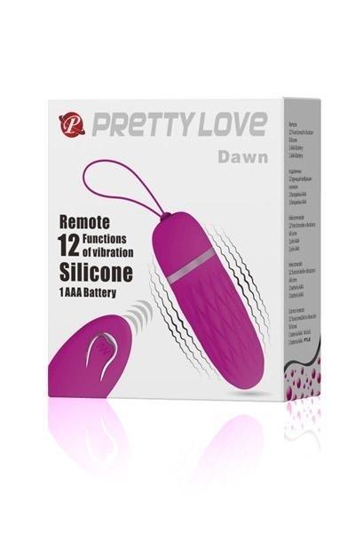 Oeuf Vibrant Télécommandé Pretty Love Dawn Rose