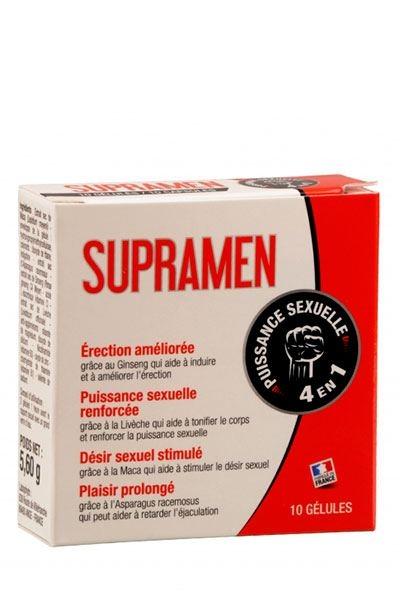 SupraMen Stimulant Sexuel 4 en 1