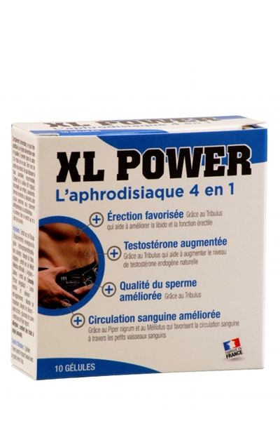 XL Power - Aphrodisiaque Homme 4 en 1