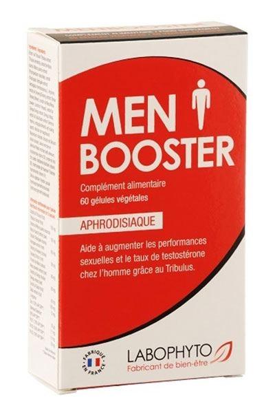 MenBooster - Super Aphrodisiaque Homme - 60 gélules