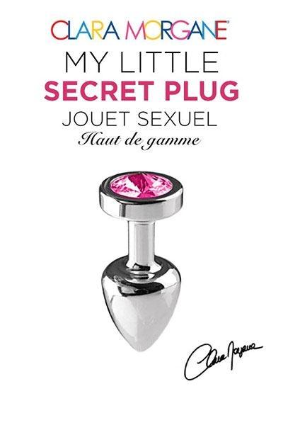 Bijou Anus My Little Secret Plug Rose - Clara Morgane