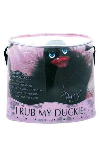 Canard Vibrant Duckie Paris Black