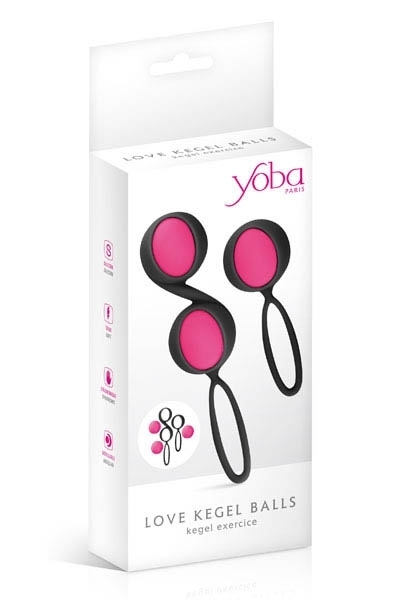 Yoba Set 2 Boules Geisha Kegel Noir