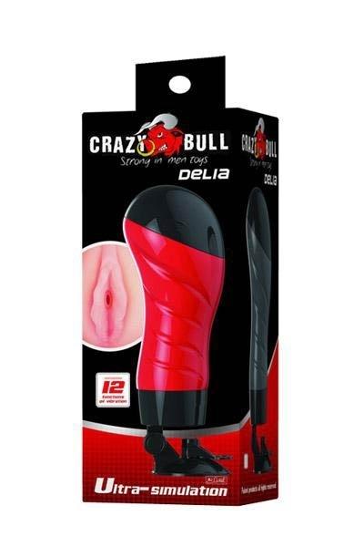 Masturbateur Crazy Bull Delia Anus Vibrant