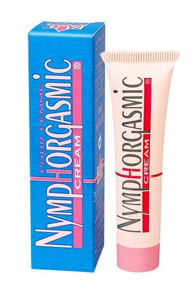 Crème stimulante sexuelle pour femme Nymphorgasmic 15ml