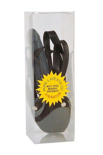 Gode-ceinture femme en pur latex 16cm