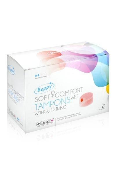 Tampons Beppy Sans Ficelle Boite 8 Pieces