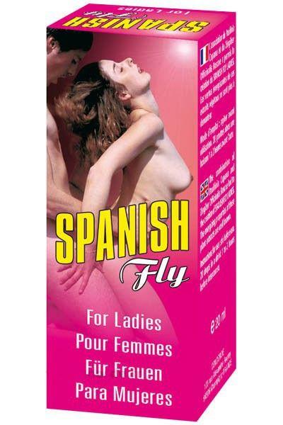 Stimultant sexuel liquide pour femme Spanish Fly Ladies 20ml
