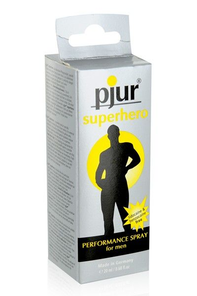 Spray retardant homme Pjur Superhero 20ml