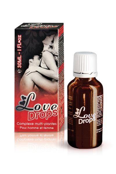 Gouttes stimultantes libido homme et femme Love Drops 30ml