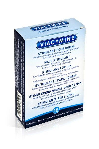 15 pilules stimulantes Viacymine homme