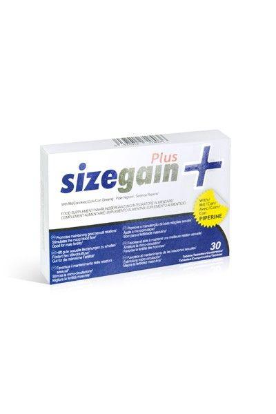 30 pilules stimultantes pour homme Sizegain Plus