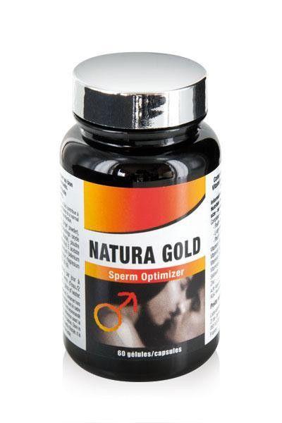 60 gélules Natura Gold Massive Sperm