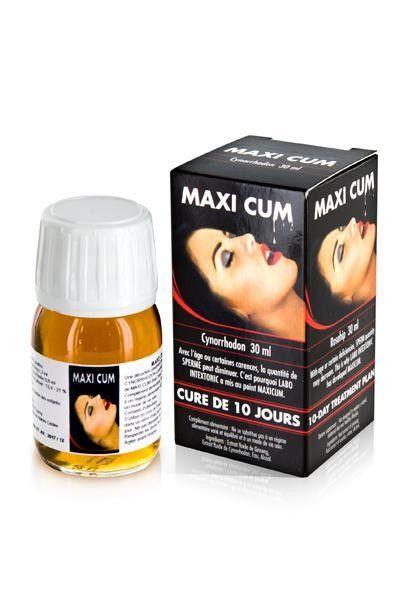 Stimultant liquide spécial sperme Maxi Cum 30ml