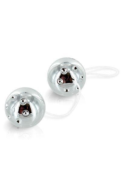 Boules de geisha argentées Duo Balls