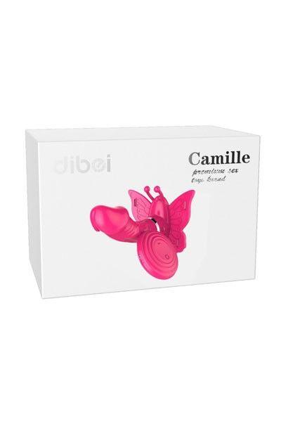 Culotte vibrante pénétrante télécommandée Camille Papillon
