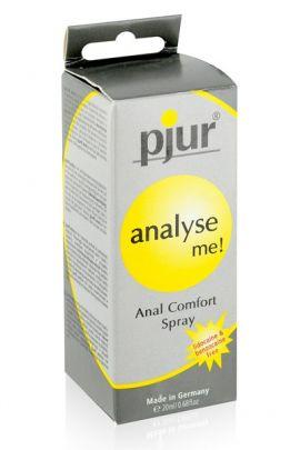 Spray relaxant anal Pjur Analyse Me arôme menthe 20ml