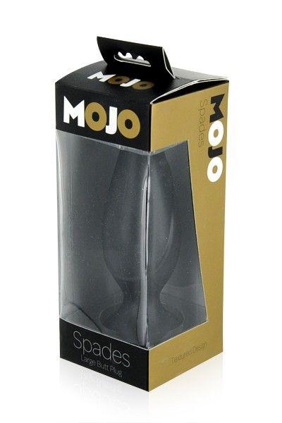 Plug anal Mojo Spades Noir Large