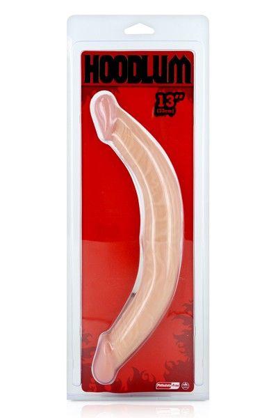 Double gode réaliste Hoodlum 36cm
