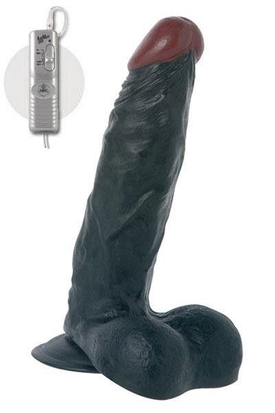 Gode réaliste géant vibrant Lee Roy 23cm