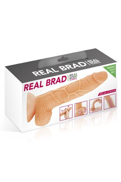Gode réaliste Real Body Brad 20cm