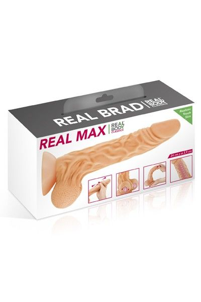 Gode réaliste Real Body Max 22cm