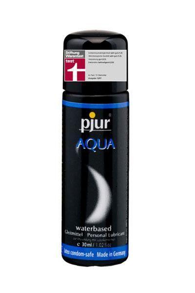 Gel lubrifiant intime base eau Pjur Aqua 30ml