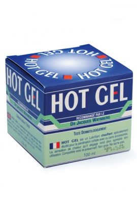Gel lubrifiant intime chauffant Hot Gel Lubrix 100ml