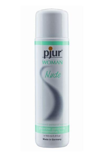 Gel lubrifiant intime féminin doux Pjur Woman Nude 100ml