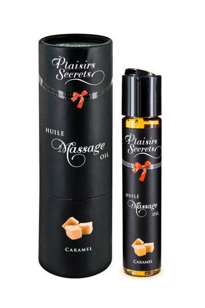 Huile de massage gourmande goût Caramel 59ml