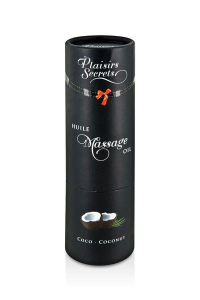Huile de massage gourmande goût Noix de Coco 59ml