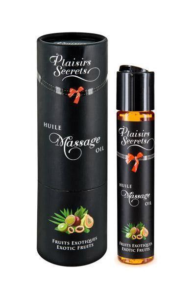 Huile de massage gourmande goût Fruits Exotiques 59ml