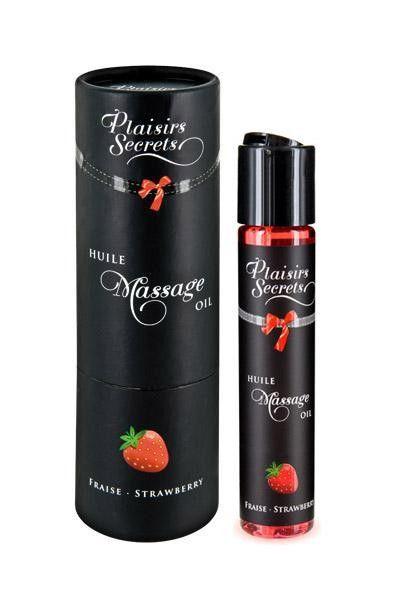 Huile de massage gourmande goût Fraise 59ml