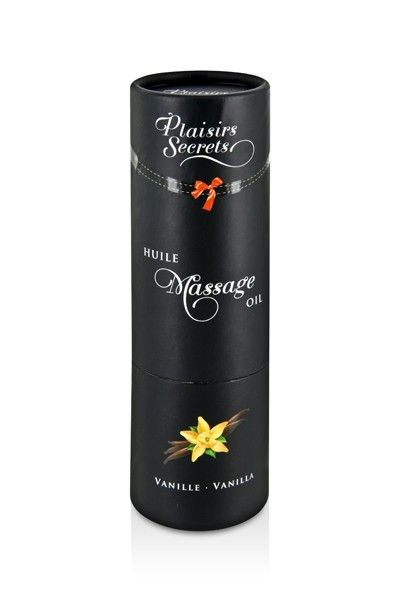Huile de massage gourmande goût Vanille 59ml