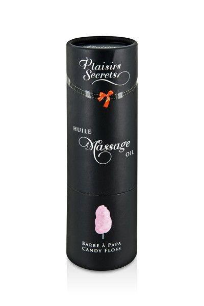 Huile de massage gourmande goût Barbe à Papa 59ml
