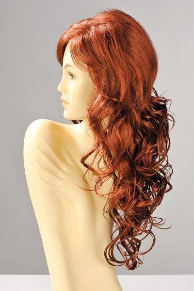 Perruque sexy Dareen cheveux roux
