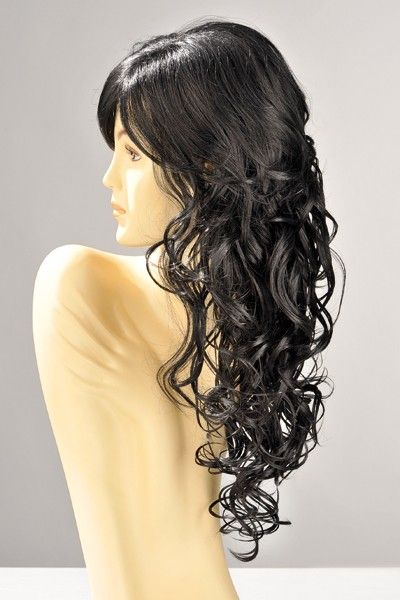 Perruque sexy Dareen cheveux bruns