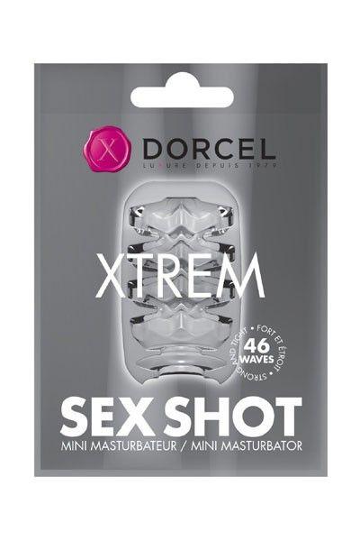 Mini-masturbateur texturé Sex Shot Xtreme Dorcel