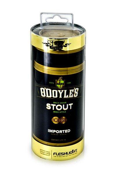 Masturbateur anus canette bière O'Doyle's Stout Fleshlight