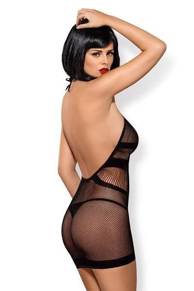 Robe sexy résille D115 - Obsessive