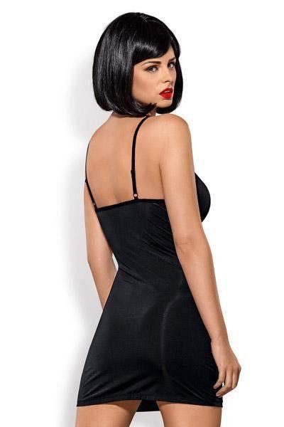 Robe sexy Gretia et string - Obsessive