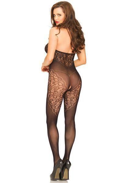 Combinaison ouverte sexy dos nu - Leg Avenue