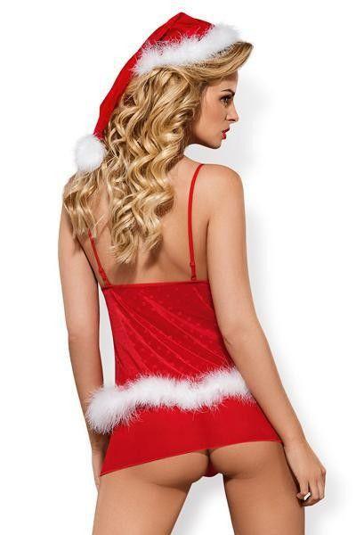 Nuisette sexy Mère Noël Santa Cutie - Obsessive