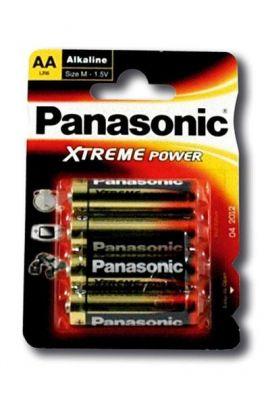 4 piles Panasonic AA LR06