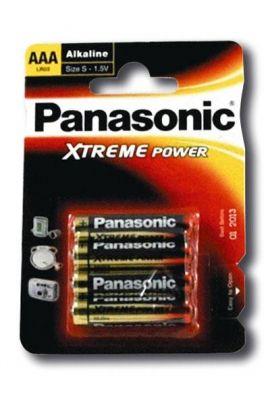 4 piles Panasonic AAA LR03