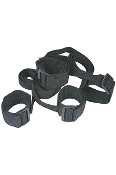 Ensemble bondage 4 menottes poignets et chevilles