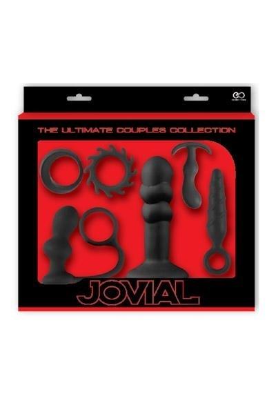 Coffret 6 Sextoys Anal Kit Jovial Noir